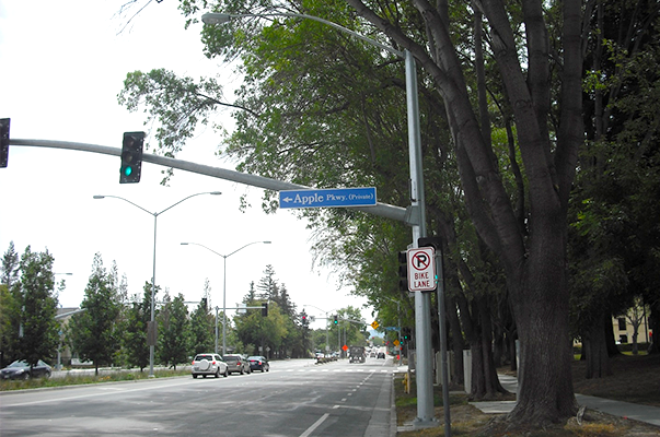 Apple街道の画像